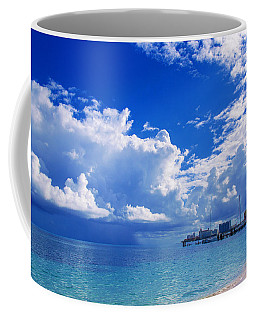 Massive Caribbean Clouds Coffee Mug