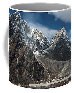 Coffee Mug featuring the photograph Massive Tabuche Peak Nepal by Mike Reid