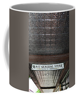 Coffee Mug featuring the photograph Mast General Store II by Skip Willits