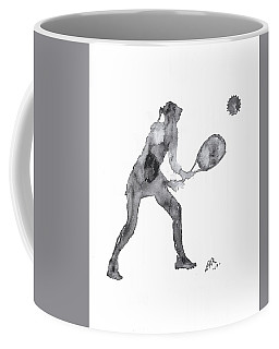 Match Point Coffee Mug by Edwin Alverio