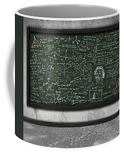 Maths Formula On Chalkboard Coffee Mug