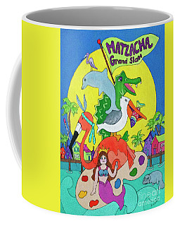 Coffee Mug featuring the painting Matlacha Grand Slam by Rosemary Aubut