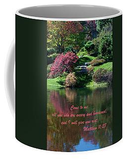 Matthew11-28 Coffee Mug