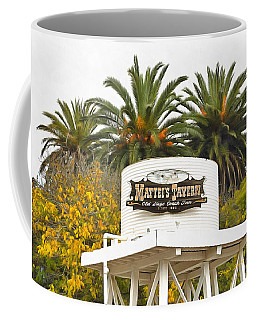 Coffee Mug featuring the photograph Matties Tavern Los Olivos California by Floyd Snyder