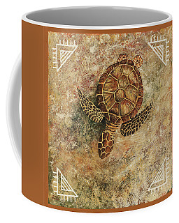 Coffee Mug featuring the painting Maui Honu by Darice Machel McGuire
