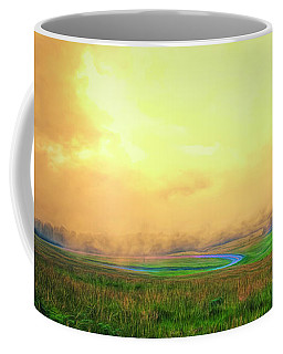 Maui - Morning Sun Through The Fog ... Coffee Mug