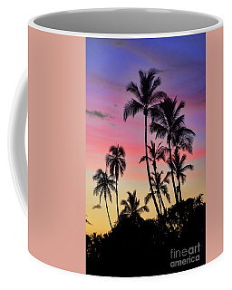 Maui Palm Tree Silhouettes Coffee Mug