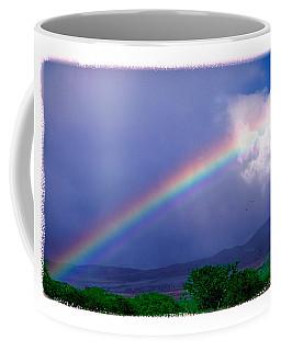 Coffee Mug featuring the photograph Maui Rainbow by Marie Hicks