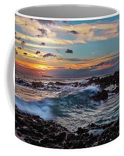 Maui Sunset At Secret Beach Coffee Mug