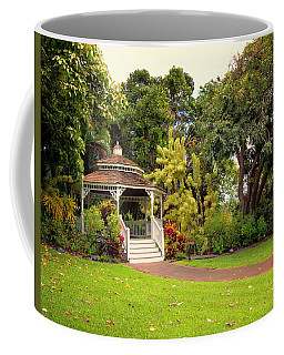 Maui Tropical Plantation Wedding Gazebo Coffee Mug