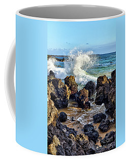 Maui Wave Crash Coffee Mug