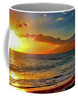 Maui Wedding Beach Sunset  Coffee Mug