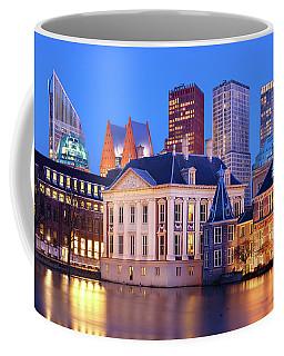 Mauritshuis Museum At Blue Hour Coffee Mug