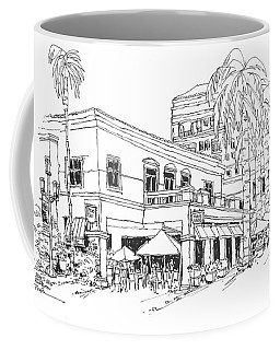 Max's Cafe In Mizner Park, Florida Coffee Mug