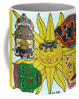 May  Aztec Masks Coffee Mug