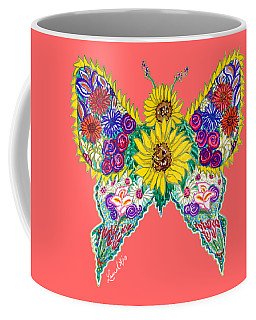 May Butterfly Coffee Mug