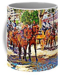 May Day Fair In Sevilla, Spain Coffee Mug