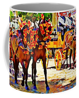 May Day Fair In Sevilla, Spain Coffee Mug