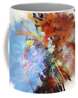 Coffee Mug featuring the digital art May I Have Your Tension? by Margie Chapman