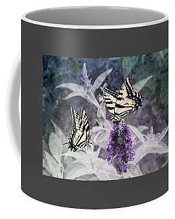 Coffee Mug featuring the photograph May I Join You by Diane Schuster