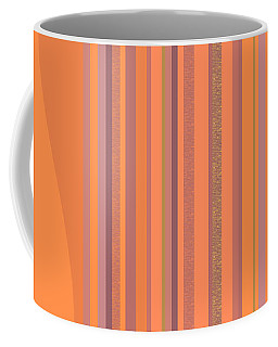 May Morning Vertical Stripes Coffee Mug