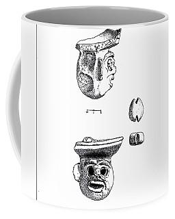 Maya Ceramic Head Coffee Mug