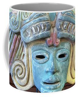 Mayan Mask Decoration Coffee Mug