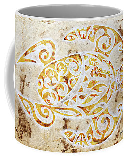 Mayan Turtle Coffee Mug