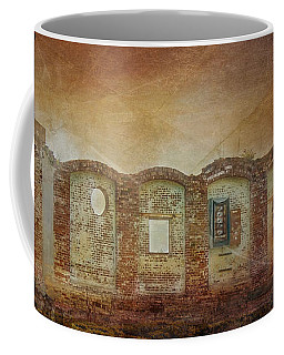 Mayfair Mills Ruins Easley South Carolina Coffee Mug