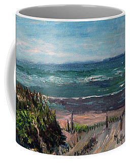 Mayflower Beach Coffee Mug