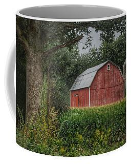 0027 - Mayville's Lapeer Road Red Coffee Mug
