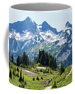 Mazama Ridge And Tatoosh Range Coffee Mug