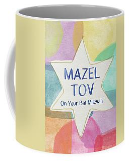 Mazel Tov On Your Bat Mitzvah- Art By Linda Woods Coffee Mug