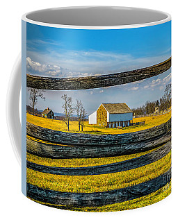 Coffee Mug featuring the photograph Mc Pherson Barn - Gettysburg National Park by Nick Zelinsky