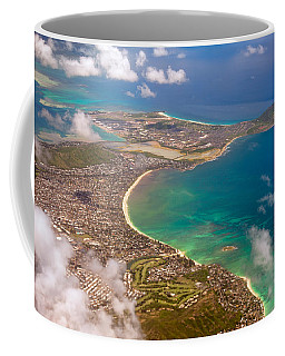 Coffee Mug featuring the photograph Mcbh Aerial View by Dan McManus