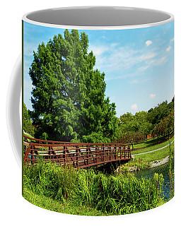 Mcbride Arboretum - Footbridge  Coffee Mug