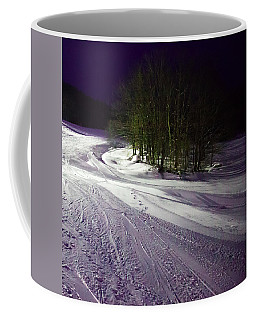 Coffee Mug featuring the photograph Mccauley Evening Snowscape by David Patterson