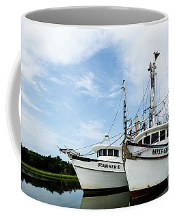 Mc Clellanville Shrimpers Coffee Mug