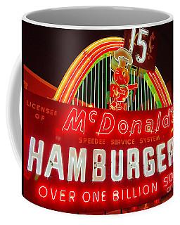 Mcdonald's Historical Neon Coffee Mug
