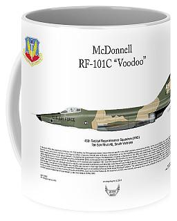 Mcdonnell Rf-101c Voodoo Coffee Mug