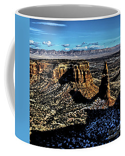 Mcinnis Canyons Tower Coffee Mug