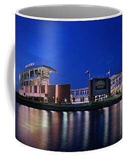 Mclane Stadium Evening Coffee Mug by Stephen Stookey