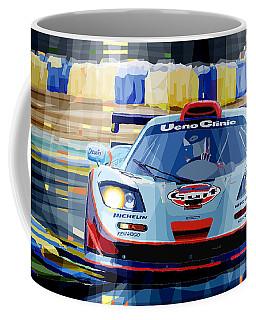 Mclaren Bmw F1 Gtr Gulf Team Davidoff Le Mans 1997 Coffee Mug