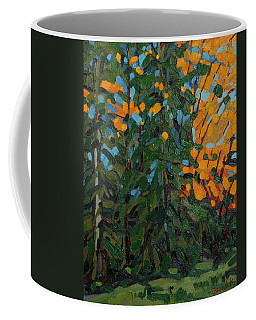 Mcmichael Forest Wall Coffee Mug