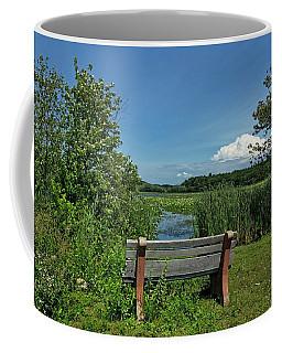 Meadow Bench Coffee Mug