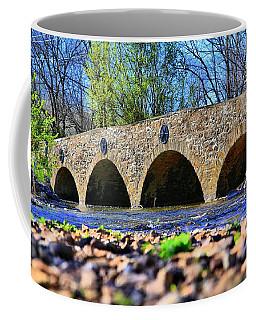Coffee Mug featuring the photograph Meadows Road Bridge by DJ Florek