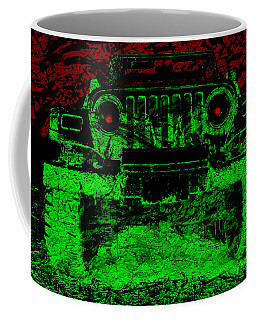 Mean Green Machine Coffee Mug