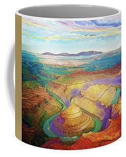 Meander Canyon Coffee Mug