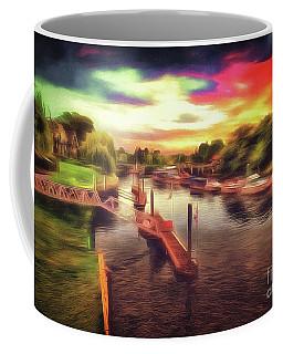 Meanwhile Back On The River Coffee Mug