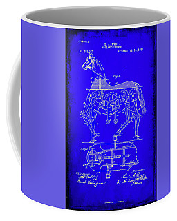 Mechanical Horse Patent Art 1b           Coffee Mug by Brian Reaves